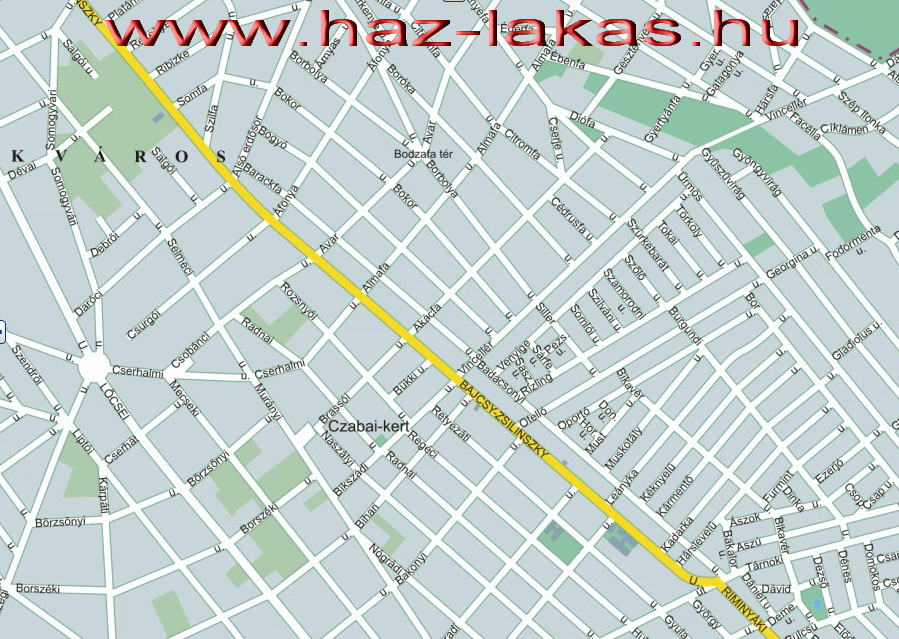 érd parkváros térkép Érdi ingatlanok érd parkváros térkép